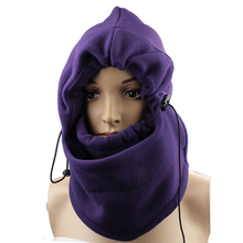 Amazing Motorcycle Bicycle Cycling SkulliesFleece Neck Cold Winter Full Face  Mask Cover Hat Cap