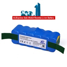 6.4Ah 14.8V Li-ion Battery for iRobot Roomba 500 600 700 800 Series 510 530 531 532 550 585 561 620 630 650 760 770 780 870 880