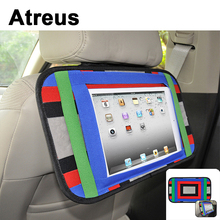 Atreus 1pc Car seat back trunk phone ipad computer holder for Toyota Corolla Avensis  Honda Civic Mazda 3 6 Peugeot 307 207 obd2