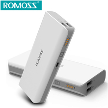 10400mAh ROMOSS Sense 4/ Sense 4 LED/ Sense 4 Plus Power Bank Dual USB Portable Charger External Battery for Android and IOS