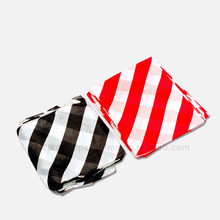Zebra Silk (black and white/Red and white) 45x45 cm -- Magic Trick , Silk & Cane Magic(China)