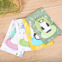 1PC/lot Fairy tale World series memo pad Kawaii sticky notes post it Office memos material School stationery supplies (tt-2760)(China)