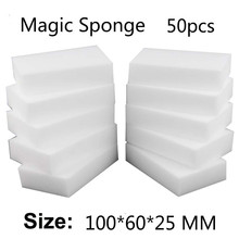 50pc 10*6*2.5cm,magic Nano Sponge Eraser Pad Cleaner/durable Dish Washing Melamine Eraser Cleaning Sponge Block Wholesale-59(China)