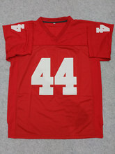 Forrest Gump #44 Football Jersey Stitched Tom Hanks Movie Red Cheap Throwback American Football Jersey