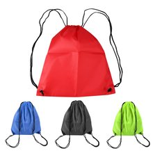 Durable Convenient 41cm x 33cm Swimming bags Drawstring Beach Bag Sport Gym Waterproof Backpack Swim Dance(China)