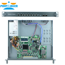 6*1000M 82574L Gigabit Nics 2 * 82580DB gigabit fiber ports Router with Intel Pentium G2010 2.8Ghz