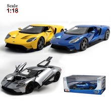 Maisto Ford GT 1:18 Alloy Car Model Toys Diecasts & Toy Vehicles Collection Kids Toys Gift