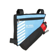 2017 Triangle Cycling Bicycle Bags Front Tube Frame Bag Water Bottle Pocket Mountain Triangle Bike Pouch Holder Saddle Bag