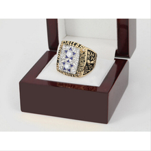 Replica 1977 Dallas Cowboys Super Bowl Football Championship Ring Size 10-13 With High Quality Wooden Box For Fans Best Gift(China)