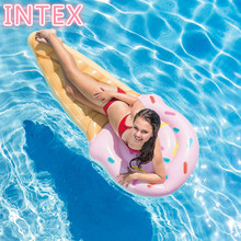Intex Ice Cream Bed Sea Beach Adult Fun Party Swim Air Float Inflatable Pool Float Inflatable Water Mattress Giant Pool Floats(China)