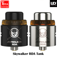 Original UD Skywalker RDA Tank 24mm Diameter 2 Posts Delrin Drip Tip Atomizer Clapton Coils PEI Heat-Resistance Top Cap(China)