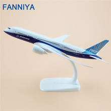 20cm Air Prototype Boeing 787 B787-9 ProtoMech Airlines Airplane Model Airways  Alloy Metal Plane Model Diecast  Gift