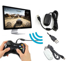 USB PC Wireless Gaming Receiver For Microsoft XBOX360 Controller Console Gamepad Adapter Accessories Support Windows 7/8/8.1/10(China)