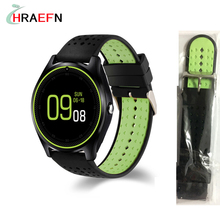 Smart watch V9 Support SIM TF Card smartwatch men women watches with camera wristwatch for Android IOS phone PK DZ09 GT08 A1(China)