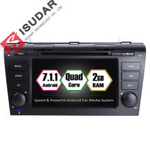 Android 7.1.1 Two Din 7 Inch Car DVD Player MAZDA 3 CANBUS Quad Core 1.6G RAM 2G ROM 16G WIFI GPS Navigation Radio Bluetooth