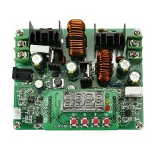 1x D3806 NC DC Constant Current Power Supply Step Down Module Voltage Ammeter Inverters Converters(China)