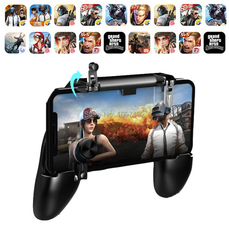 PUBG Mobile Game Controller Gamepad Trigger Aim Button L1R1 Shooter Joystick For IPhone Android Phone For Game Pad Accesorios (4)