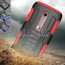 Heavy Duty Hard Armor Case Holster Belt Clip Cover Motorola Moto G /G2/G3 3rd Gen/G4 Plus Play/E3/X/Z Force Play Droid - elephone store