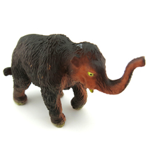 mammoth Simulation model of animal dolls plastic toys furnishing articles wildlife forest animal model of gifts