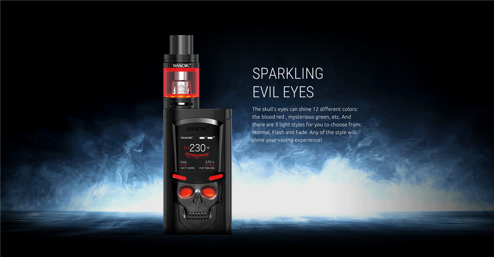 Electronic Cigarette Vape Box Mod Kit SMOK S-Priv 230W Vaporizer E Hookah Pen VS SMOK Alien AL85 iStick Pico Stick V8 Kit S194