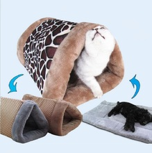 Hot Sale Multi-function Pet Bed Cat Tunnel Cat Sleeping Bag Cat Toy Pet Dog Bed Cushion Mat Dog Kennel Pet Bed Sofa(China)