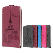 Embossing PU Leather Case For Micromax Canvas Pace 4G Q415 Flip Case Cover Wallet Style With Card Slot  Phone Bags