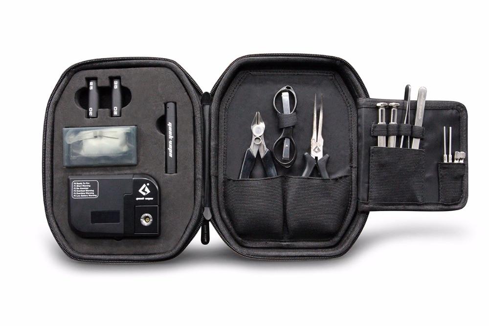 original Geekvape 521 Master Kit V3 Include Tap Pro Diagonal Pliers Ceramic Tweezer Geekvape Coiling Kit For E Cig RDA Tank DIY<br>
