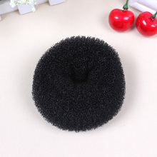Black Hair Styling Donuts Magic Sponge Bun Ring Maker Former Hair Disk K210