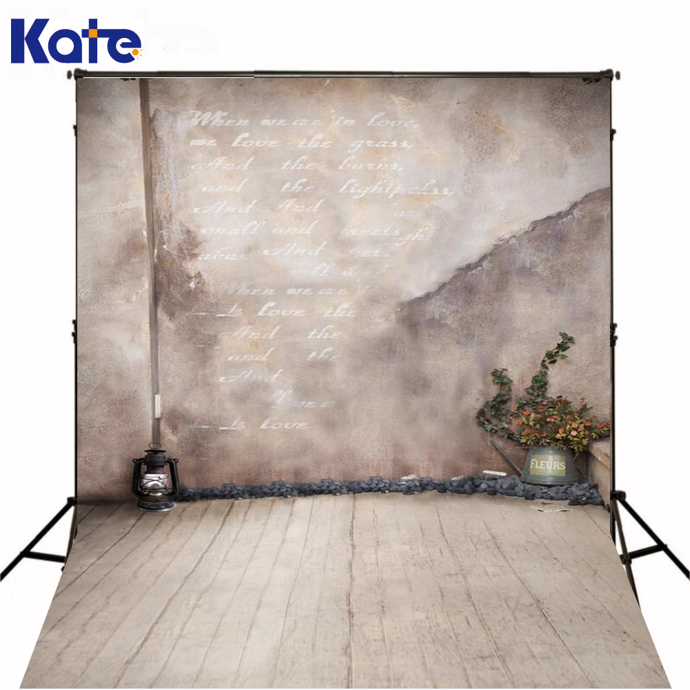 Kate Digital Printing Photography Backdrops Antique Lantern Potted Plants Photo Studio Photography Backdrops Lk4273<br>
