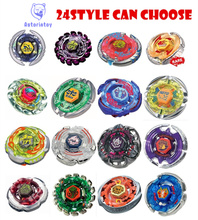 1PCS 24STYLE  BEYBLADE METAL FUSION  Metal Masters 4D Beyblade BB28 BB40 BB43 BB45 BB 47 BB59 BB69 BB70 Without Launcher