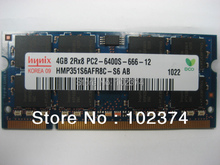 Memory 1GB 2GB 4GB 8GB DDR2 800 PC2-6400S ram compatible laptop 4416S,QC40,E6400 other models,compatible with ddr2 667 laptop