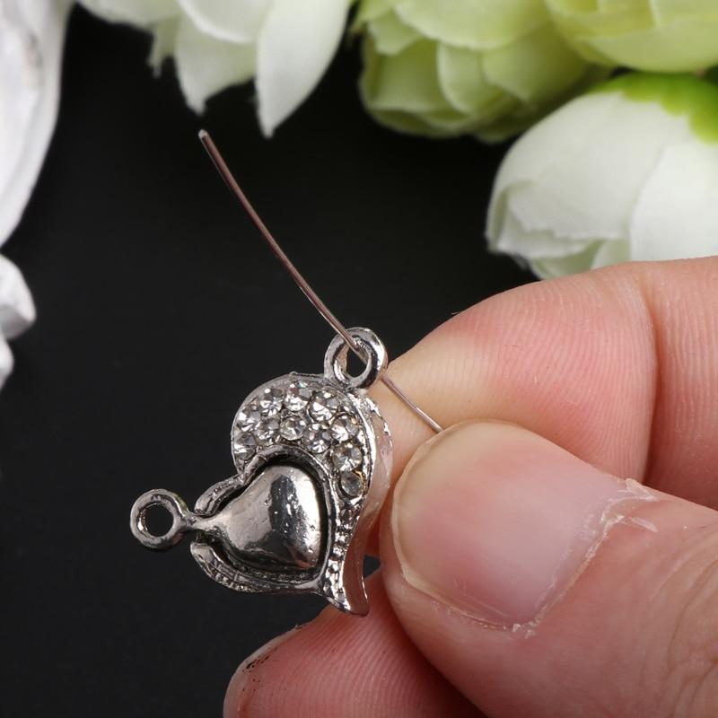 100Pcs//Set 50mm Mental Flat Head Pins Needles Necklaces Bracelets Earring Hooks