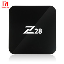 Android 7.1 TV Box Z28 Rockchip RK3328 64bit Cortex A53 1GB/8GB (2GB/16G) Set-top Box Support H.264, 265 4K USB 3.0 Media Player