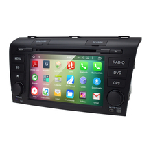 1G ROM 16G 1024*600 QuadCore Android 5.1 Fit MAZDA3 2004-2009 Car Monitor DVD Player GPS TV 3G Radio HD DVBT DVR SWC WIFI DAB SD