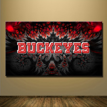Ohio State Buckeyes Football Team Print Canvas For Wall Art Decoration Oil Painting Wall Painting Picture No Framed