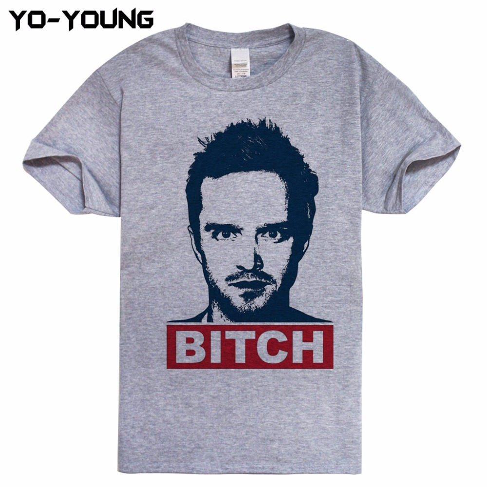 Jesse Pinkman Men T Shirts Breaking Bad Cool Design Digital Printed 100% Combed Cotton 180gsm Fashion Top Tees Customized