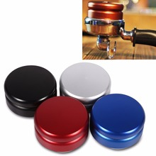 Best Coffee Grinder Manual Coffee Grinder Diagnostic-Tool Stainless Steel 58mm Handmade Blue Coffee Espresso Tamper Drinder Tool