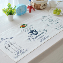 French Cloth Table Mats Kitchen Tool Tableware Pad Coaster Coffee Tea Place Mat
