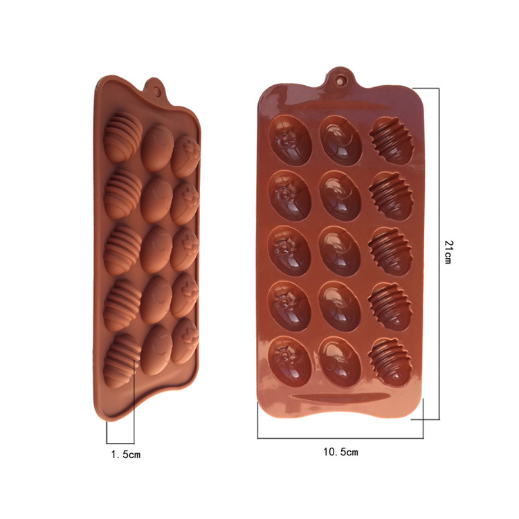 Egg shape chocolate mold
