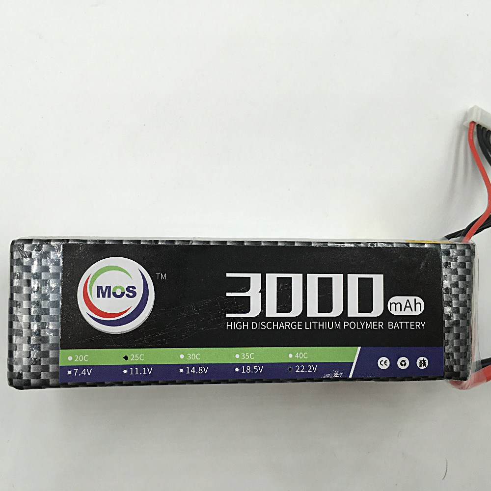 MOS 5S lipo battery 18.5v 3000mAh 30C For rc airplane free shipping<br>