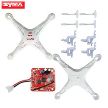 Syma Original Shell For X5C X5 RC Helicopter Main body + V6 PCB Circuit board + Motor seat Quadcopter Spare Parts