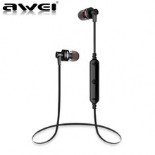 Awei A990BL Bluetooth Earphone Wireless Sport Headphones Stereo Music Headset Handsfree Mobile Phone Earbuds For iPhone Samsung(China)