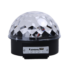 LED Stage Effect Lamp Remote Control USB Bluetooth MP3 Disco KTV Pub LED Stage Magic Ball Lighting Lamp