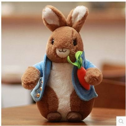 Free Shipping New 2015 Original 32cm Peter Rabbit Stuffed Toys Children Plush Dolls For children gift<br><br>Aliexpress