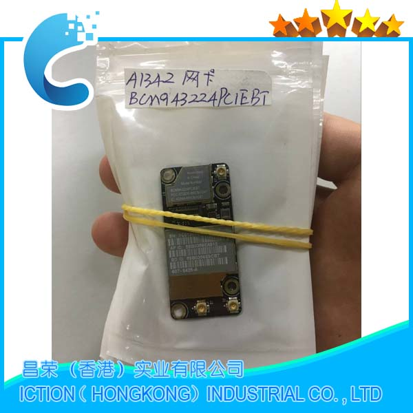 """Mid 2010 A1297 17/"""" MacBook Pro Wifi//Bluetooth//Airport Card and Bracket"""