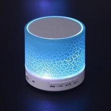 EU STOCK NEW LED MINI Bluetooth Speaker A9 TF USB FM Wireless Portable Music Sound Box Subwoofer Loudspeakers For phone PC