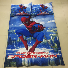 mavelous super heroes boys bedding set 2/3pcs kit of duvet cover bed sheet pillow case kit/twin/single