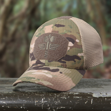 Multicam Camouflage Breathable Baseball Cap Tactical Hip Hop Snapback Hats Adjustable Summer Sun UV Protection For men women(China)