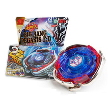 B105 Metal Toupie Fusion Arena Top Beyblade burst 4D Masters Launcher For Children Boy Christmas Hand spiners Fidget spinner Toy(China)