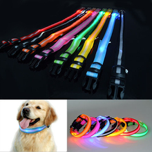 LED Flashing Pet Neck Collar Adjustable Dogs Lightnings Necklace USB Charging Dog Collars Pets Small Fluorescent Decoration(China)